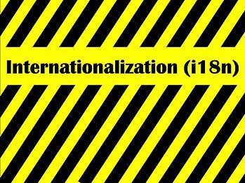 Cliffs Notes - Internationalization