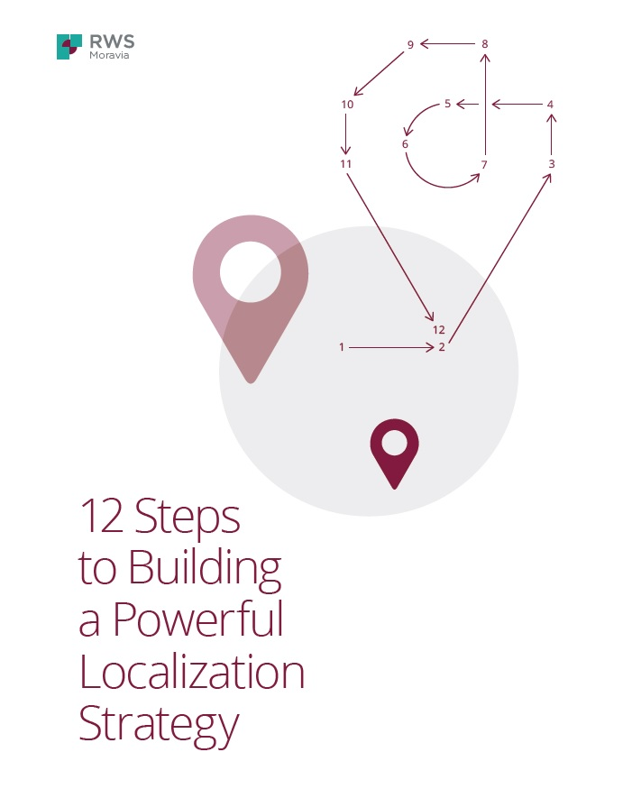 12 Steps to Building a Powerful Localization Strategy Cover