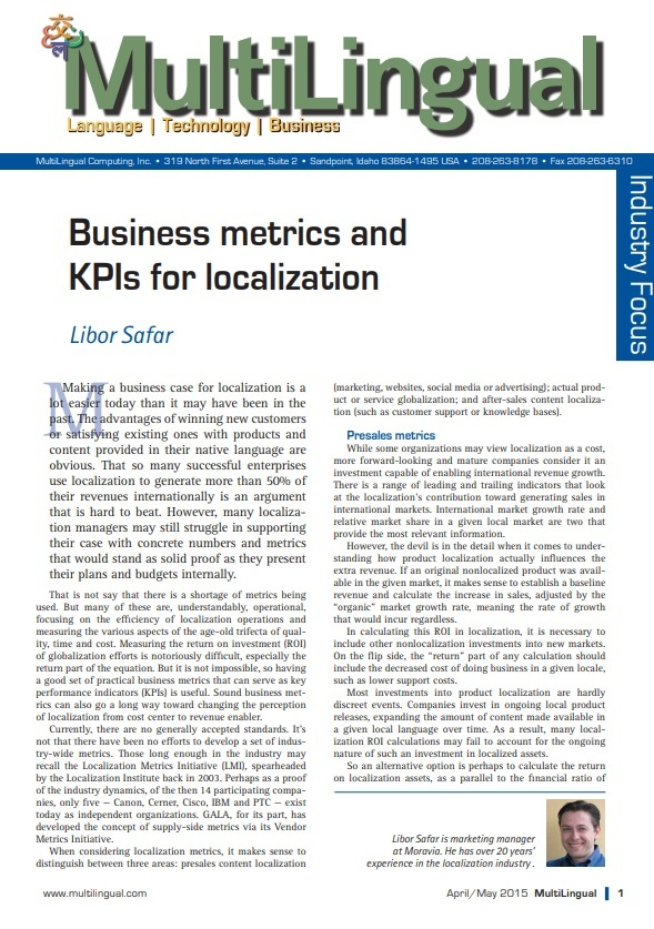 Business Metrics and KPIs for Localization Cover Picture