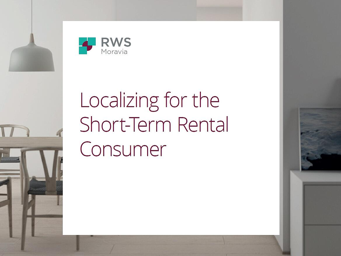 Localizing for the Short-term Rental Consumer [Ebook]