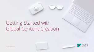 Getting Started with Global Content Creation