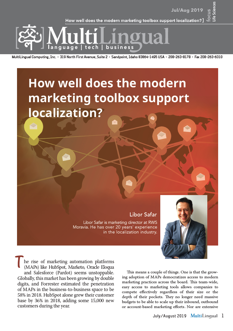 How Well Does the Modern Marketing Toolbox Support Localization?