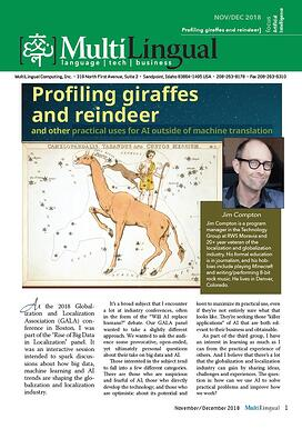 Profiling Giraffes and Reindeer: Practical Uses for AI Outside of Machine Translation [Article]