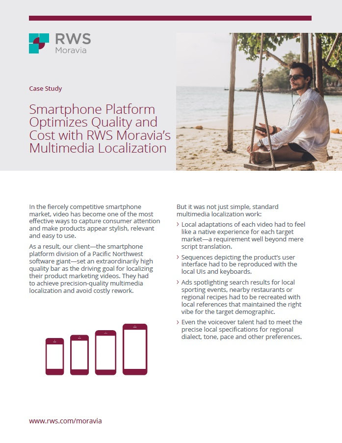 Smartphone Platform Optimizes Quality and Cost Cover Page