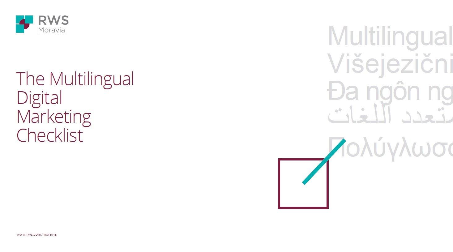 The Multilingual Digital Marketing Checklist Cover-1