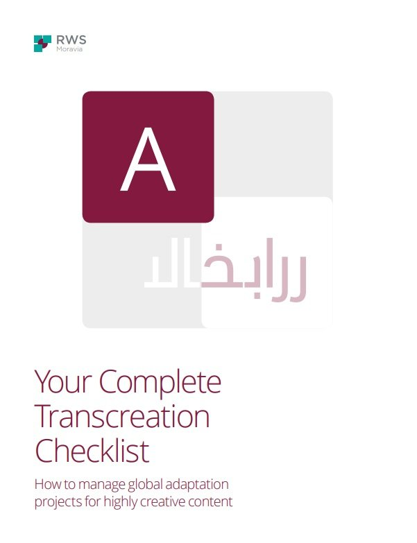 Your Complete Transcreation Checklist Cover